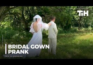 Brother Pranks Groom Wearing Bridal Gown