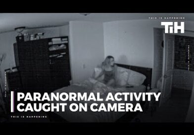 Paranormal Activity Caught On Camera