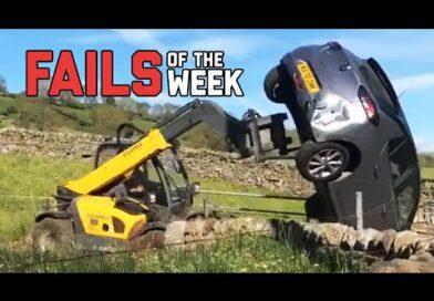 Angry Farmer Flips Car Off His Land – Fails Of The Week   FailArmy